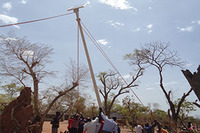 AIO Solar Street Light Project  - In Africa