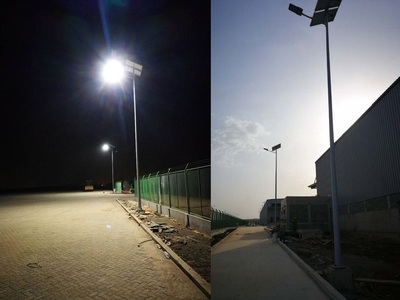 Solar Street Light Project - In Africa