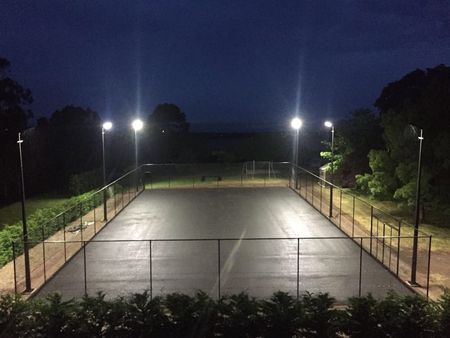 LED Stadium Lights Project - In Australia